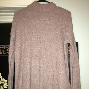 Oversized turtle neck sweater